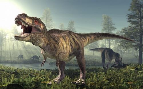 dinosaurio trex